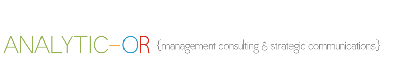 Analytic-OR: Management Consulting and Strategic Communications